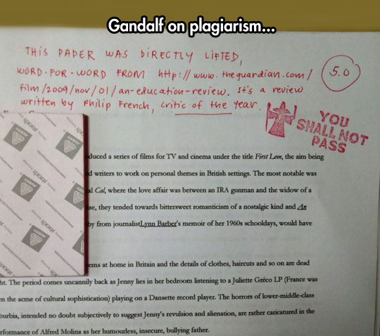 funny-picture-teacher-Gandalf-stamp-cheating-test
