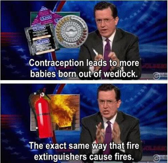 funny-picture-Colbert-fire-extinguishers-contraception