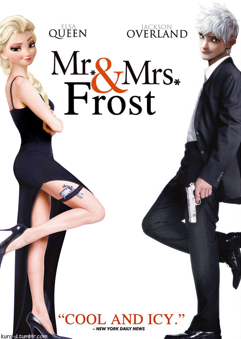 funny-picture-Frozen-mr-and-mrs-smith