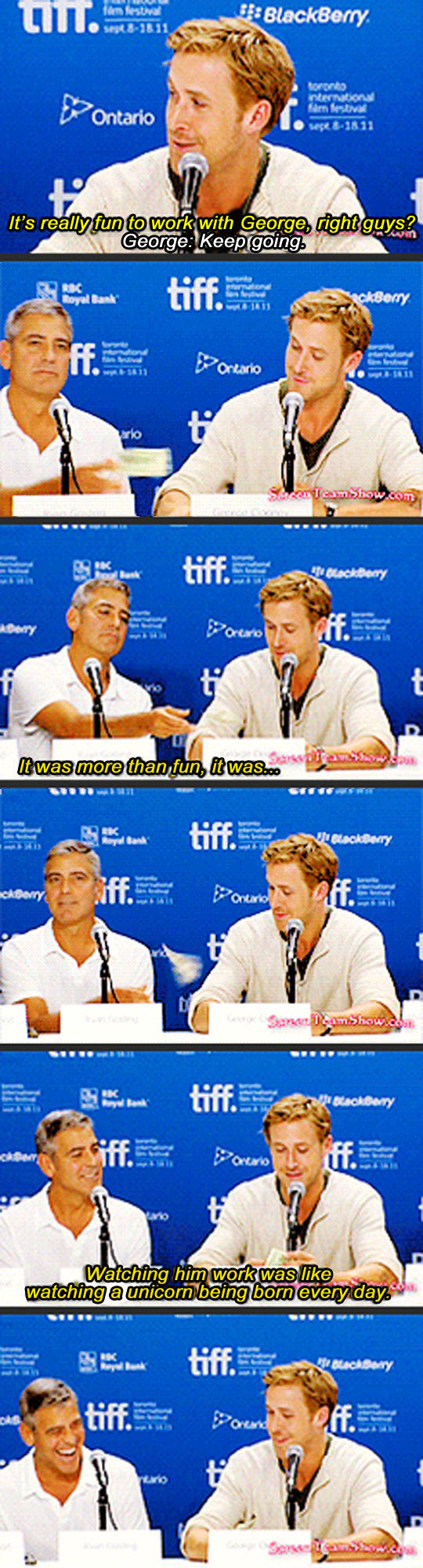funny-picture-Ryan-Gosling-George-Clooney-unicorn-interview