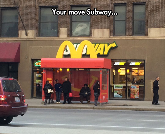 funny-picture-Subway-McDonalds-bus-stop-ad