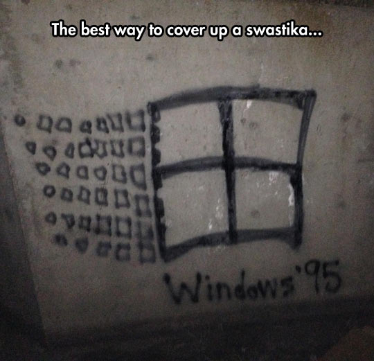 funny-picture-Windows-wall-graffiti-drawing
