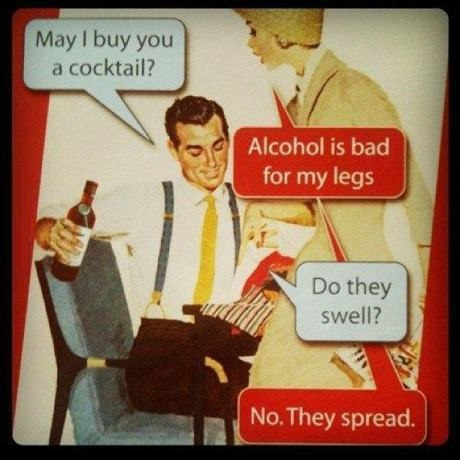 Alcohol is bad
