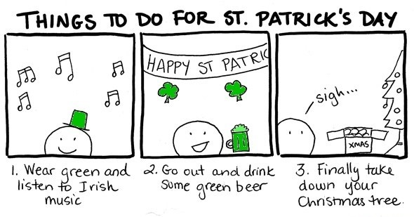 funny picture comics st patricks day