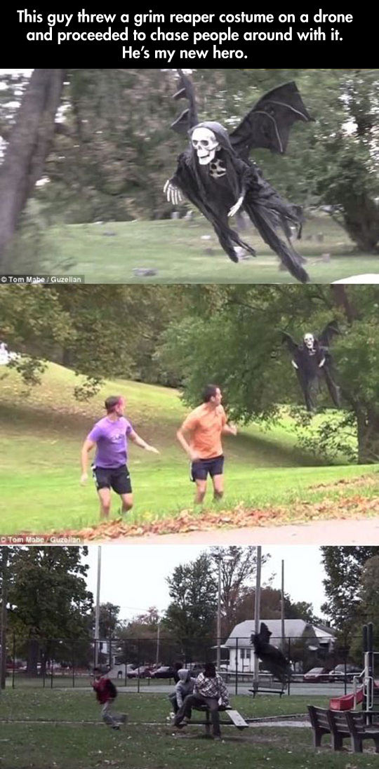 funny-picture-grim-reaper-costume-over-drone-scaring-people