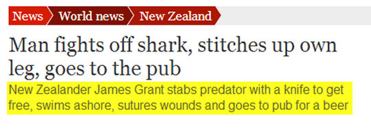 funny-picture-man-fighting-shark-stitching-leg-pub
