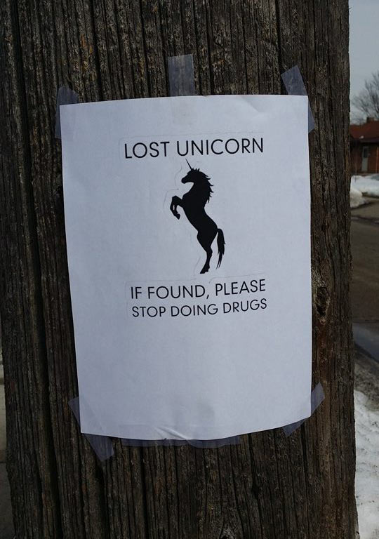 funny-picture-post-sign-unicorn-street