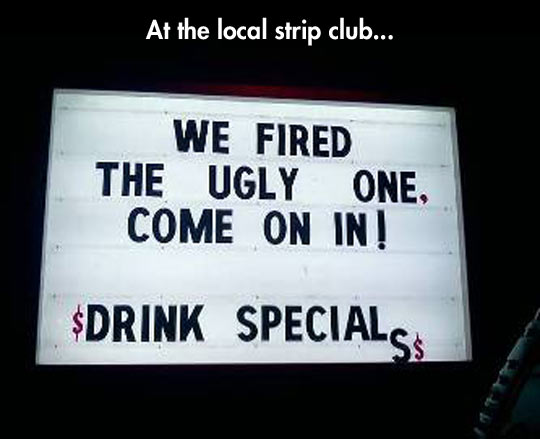 funny-picture-sign-ugly-one-club-fired