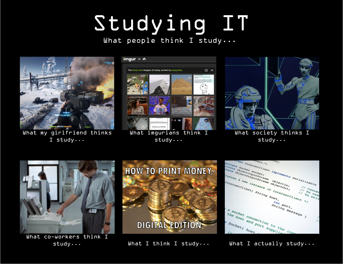 Funny Memes For Studying : Funny picture studuing it