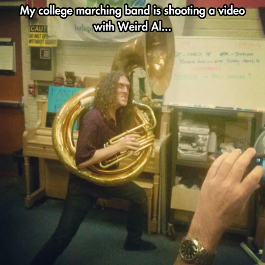 funny-picture-trombone-Weird-Al-march-band