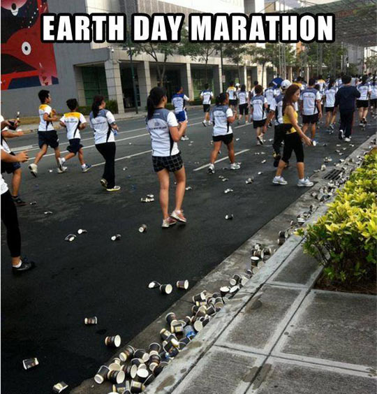 funny-picture-Earth-Day-Marathon-garbage-street