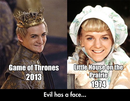 Drôles d'images Funny-picture-Joffrey-GoT-Little-House-Prairie