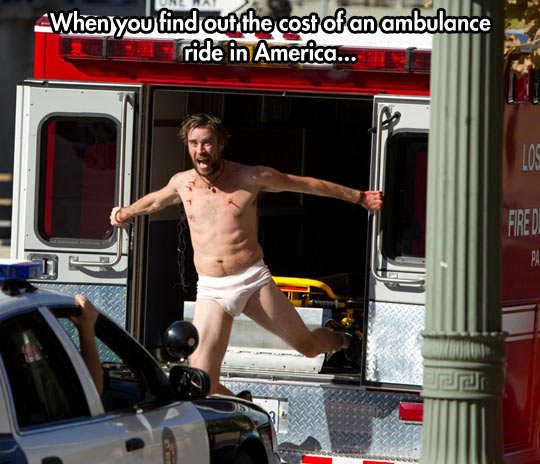 funny-picture-ambulance-jump-off-street-police-guy