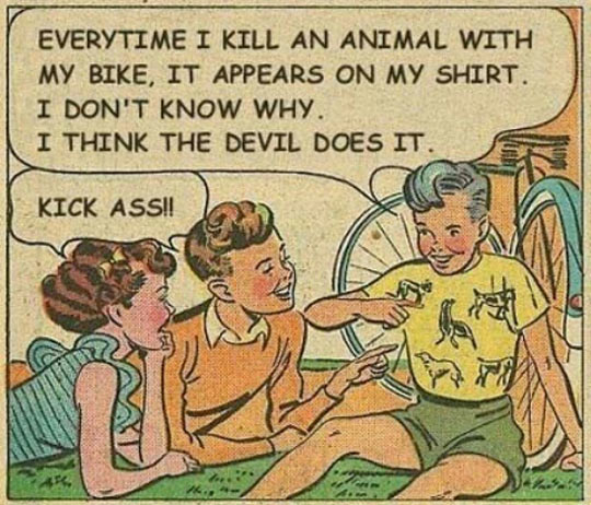 funny-picture-kid-animal-comic-vintage
