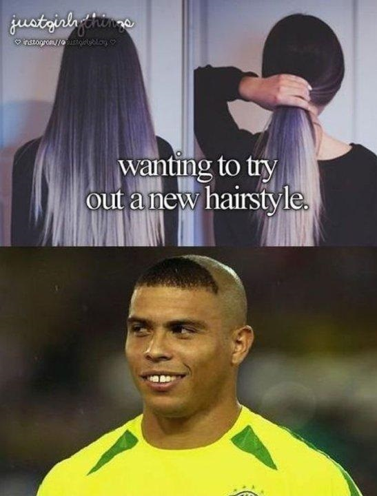 A New Hairstyle