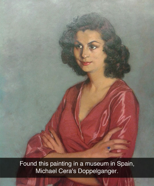 funny-picture-painting-Michael-Cera-Spain-double