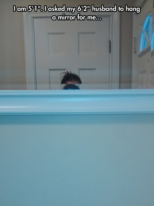 funny-picture-short-hanging-mirror-wall
