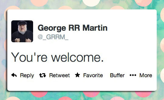 funny-picture-George-RR-Martin-Twitter-welcome