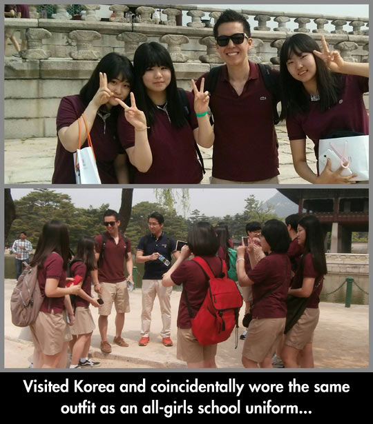 funny-picture-Korea-shirt-visit-school-girls