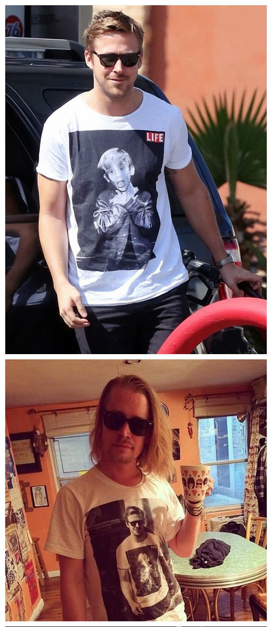 funny-picture-Macaulay-Culkin-Ryan-Gosling-shirt