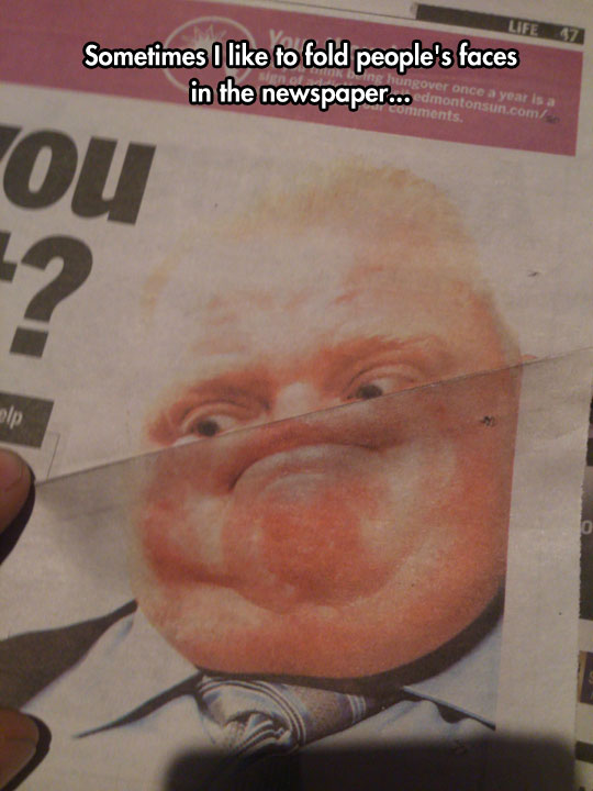 funny-picture-folded-faces-newspaper-people