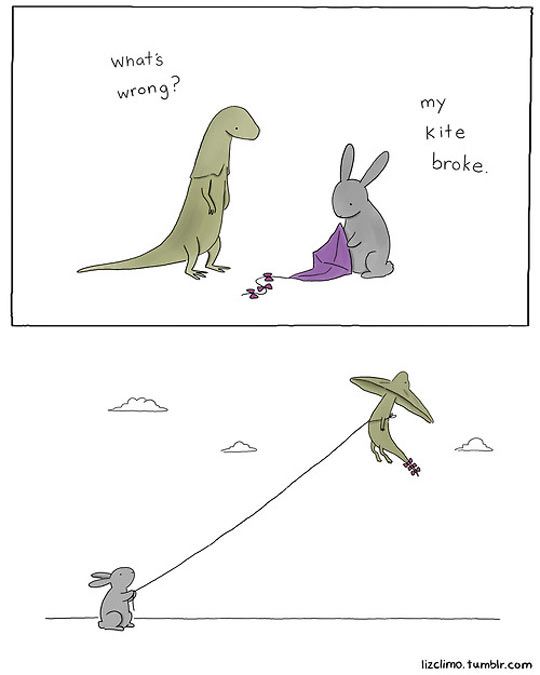 funny-picture-kite-bunny-lizard-comics