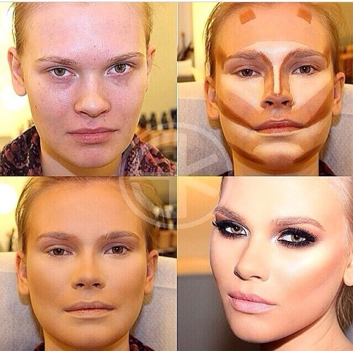 funnypicture-makeup-before-after