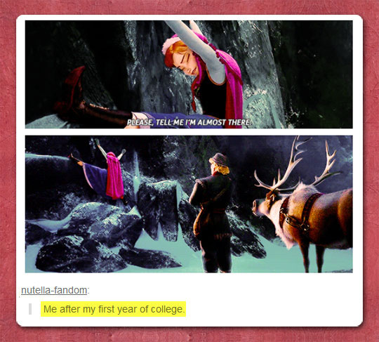 funny-picture-Frozen-Elsa-climbing-rock-college