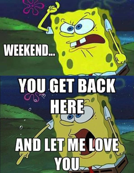 funny-picture-SpongeBob-love-weekend