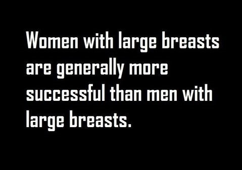 Large breasts
