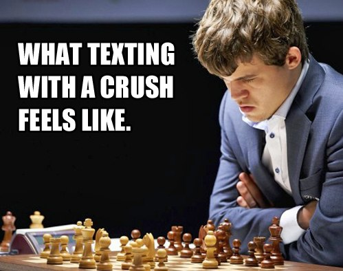 Texting to your crush