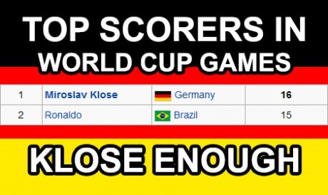 That was Klose
