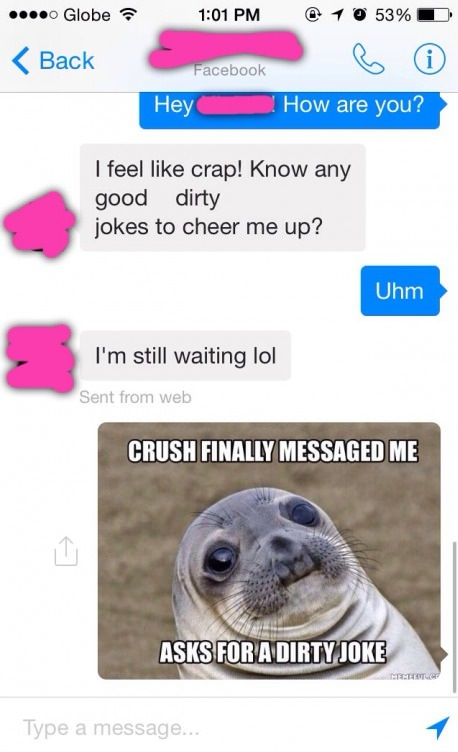 Dirty texts funny 29 Dirty