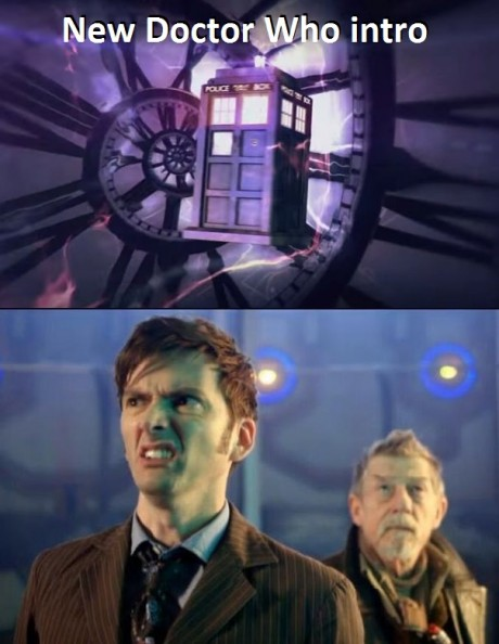 New Doctor Who Intro: Ew