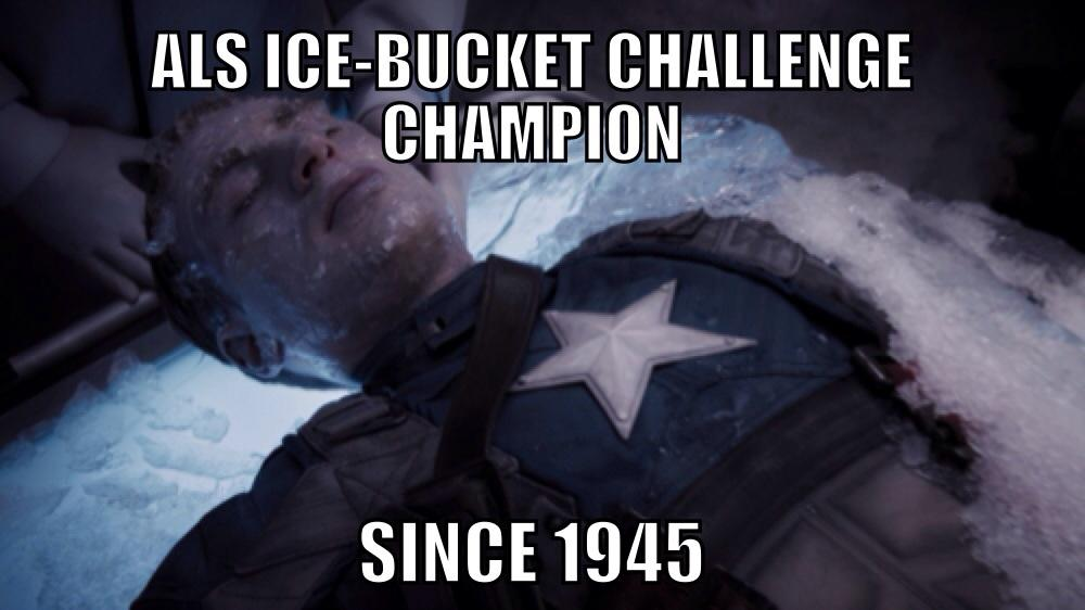Original Ice Bucket Challenge