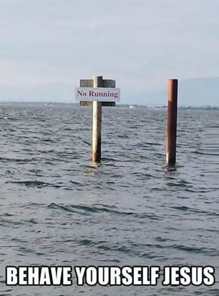 funny-no-running-sign-water