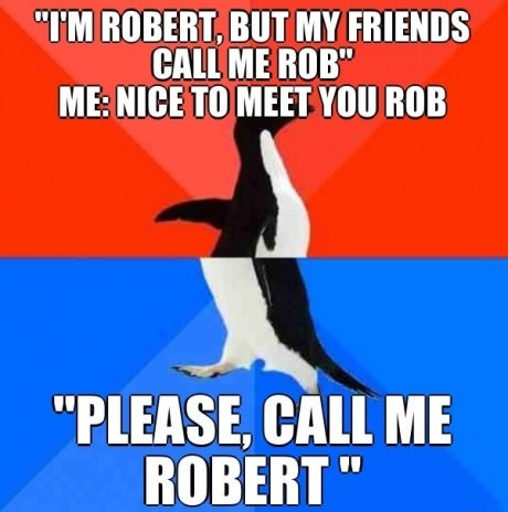 What The Hell, Rob?