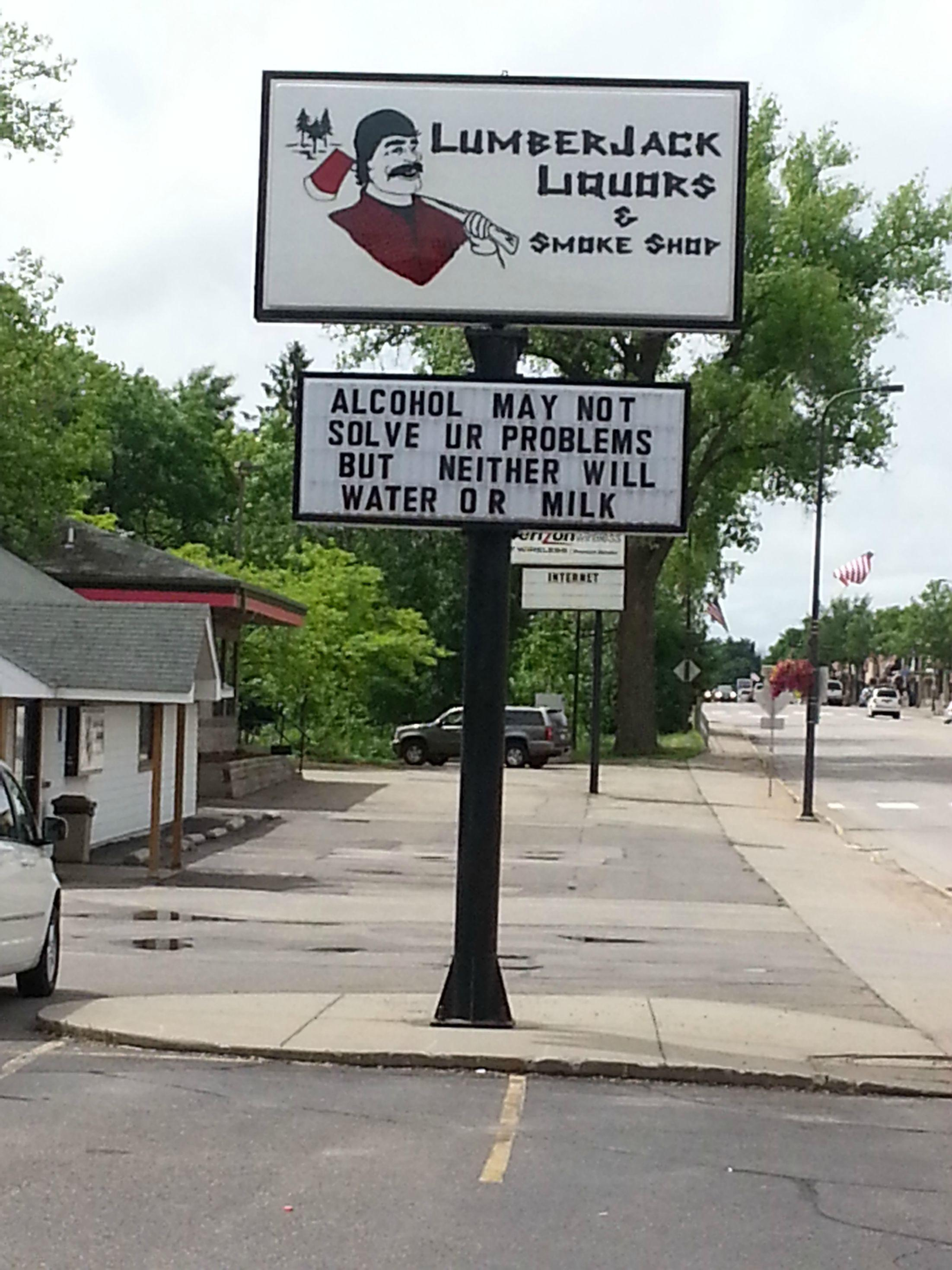 funny-sign-alcohol-milk-water-problems