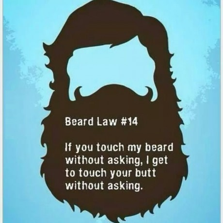 Funny Photo Of The Day Worst Pac Man Beard You Ll Ever See