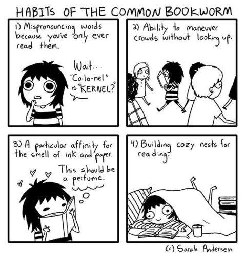 funny-comics-book-worm-habits