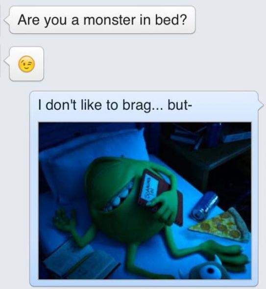 I'm a Monster in Bed