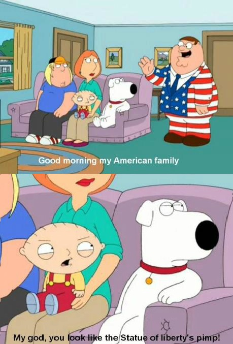 funny-peter-griffin-in-the-american-flag