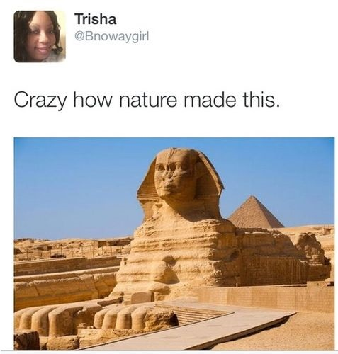 Funny Pictures About Egypt: Isn't Nature Is Amazing?