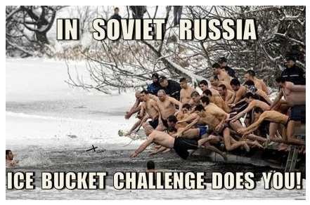 Russian Ice Bucket Challenge