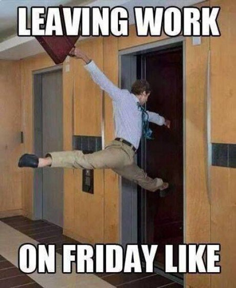 Funny Memes About Work On Friday : Friday funny work quotes quotesgram