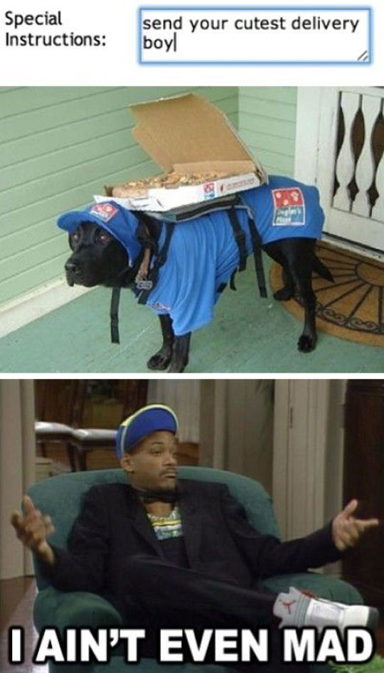 cutest delivery boy