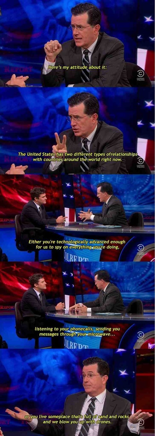 Colbert on USA