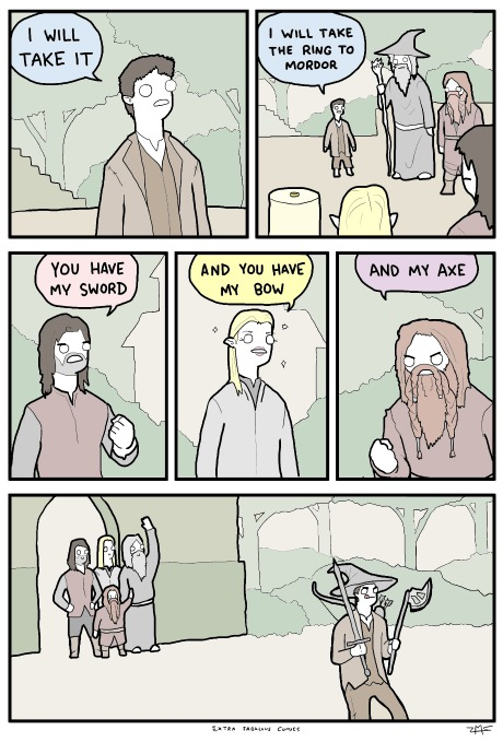 funny-comics-lord-of-the-rings