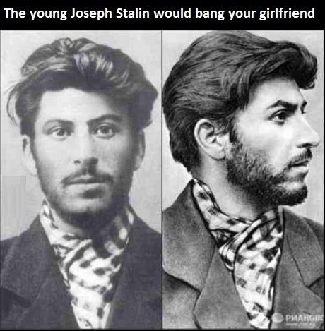 Young Joseph Stalin Handsome Young Joseph Stalin