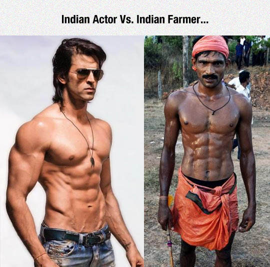 funny-Indian-actor-farmer-muscle